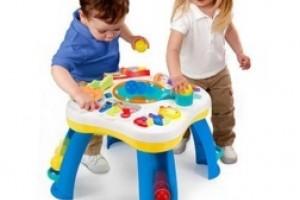 Развивающие детские столики со множеством функций