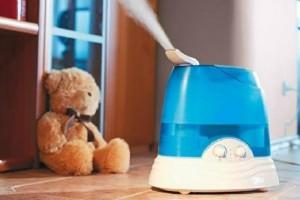 Полезности увлажнителя воздуха в детской комнате