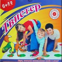 """Напольная игра """"ТВИСТЕР"""""""
